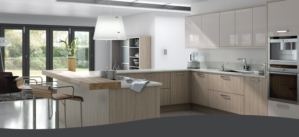 Schuller kitchens sculler fitted kitchens bolton for Fitted kitchen designs