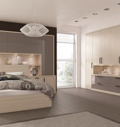 Fitted bedroom modern